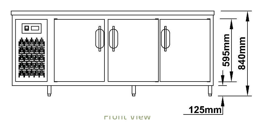 Bàn đông 3 cánh-Berjaya (BS 3DF7/C) (BS 3DF8/C) - hinh 1