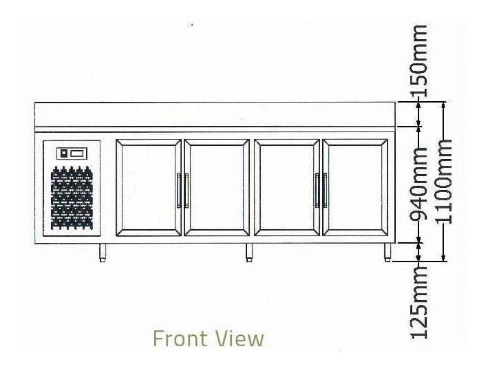 Bàn mát 4 cánh kiếng thành sau-Berjaya (B 4D/C8/6-S) - ct2