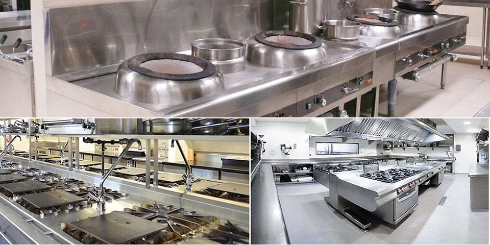 Thi công lắp đặt bếp công nghiệp, bếp nhà hàng