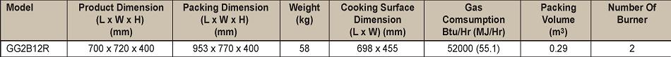 Chiên nhám/phẳng-Berjaya (GG 2B12R) - hinh 2