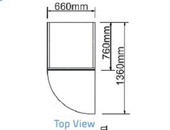 Tủ đông 2 cánh-Berjaya (BS 2DUF/C) - chit tiết 1