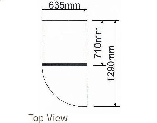 Tủ mát 1 cánh kiếng-Berjaya (1D/DC-S) - hinh 1