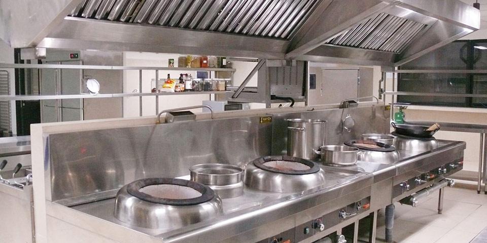 Thiết bị Bếp nhà hàng, Bếp inox, Bếp công nghiệp Sao Phương Nam